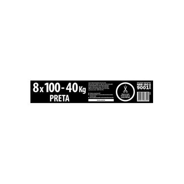 Lona Plástica Lonax Preta 8 x 100m 40Kg
