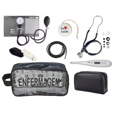 Kit De Enfermagem Completo - Grafite Enfermagem Premium