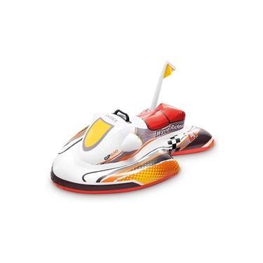 Bote Boia de Piscina Infantil Jet Ski Inflável Criança Intex