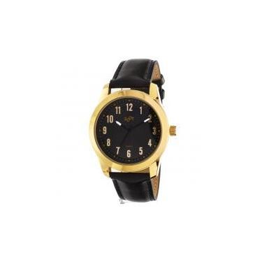 18f725e76e5 Relógio de pulso casual zoot analógico bergamo - ouro preto