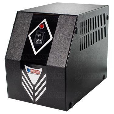 Protetor Eletrônico 1KVA 600W Bivolt 10A E127V/220V S115V 4 Tomadas Cabo Certificado Gabinete Metálico Emplac F60007