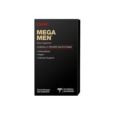 Mega Men Multivitamínico 180 caps GNC