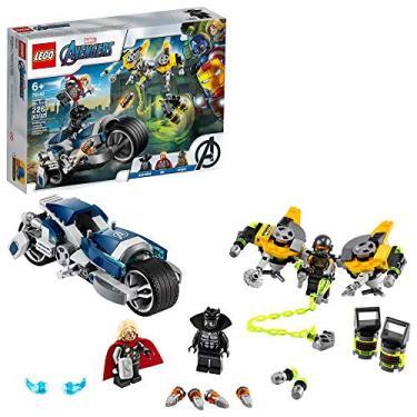 Lego Super Heroes Ataque dos Vingadores em Mota Speeder 76142