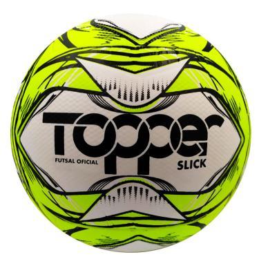 Bola de Futsal Slick Amarela 5167 - Topper
