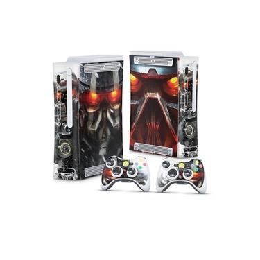 Skin Adesivo para Xbox 360 Fat Arcade - Killzone 3