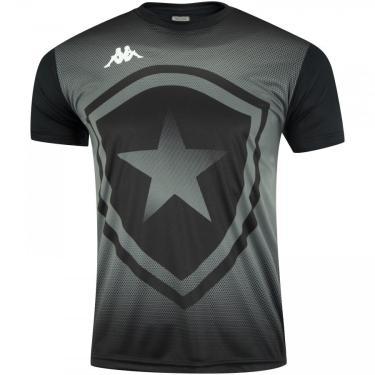 Camiseta do Botafogo Escudo 2019 Kappa - Masculina Kappa Masculino