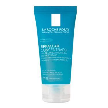 La Roche-Posay Effaclar Concentrado Gel de Limpeza Facial Pele Oleosa com 60g 60g
