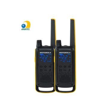 Rádio Comunicador Talkabout 35km T470BR Amarelo/Preto MOTOROLA