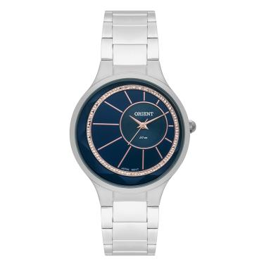 3c85cab8acc Relógio Feminino Orient Analógico FBSS0073 D1SX - Prata