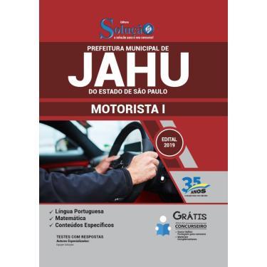 Apostila Concurso Jahu SP 2019  Motorista I