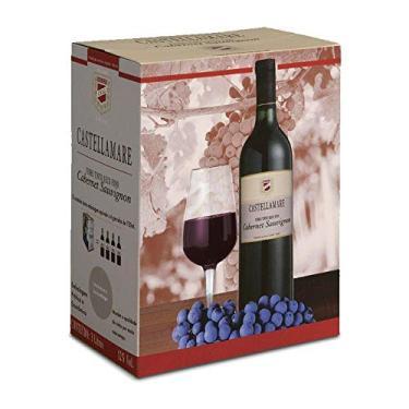 Vinho Tinto Seco Cabernet Sauvignon Castellamare Bag-in-Box 3 litros