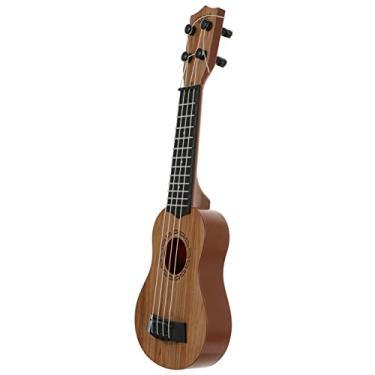 Imagem de EXCEART 1Pc Criança Guitarra Ukulele Soprano Ukulele para Iniciantes 4- Cordas Ukulele Cavaquinho para Crianças Iniciantes ( Assorted Cor )
