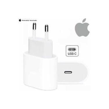 Fonte Carregador Rápido Turbo USB-C 20w iPhone 8 X XR XS 11 12 Pro