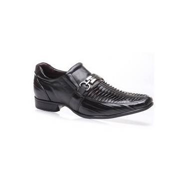 3567ae3a2b Sapato Em Couro Rafarillo Orlando 7961-01 Preto