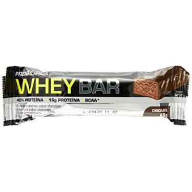 Imagem de Whey Bar High Protein, Chocolate, Probiótica, 40 G, 24 Unidades