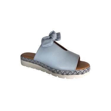Vizzano Tamanco Flat Form 6388.411 Azul Jeans Cor Azul Jeans