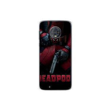 Capa para Moto G6 Play - Deadpool 4