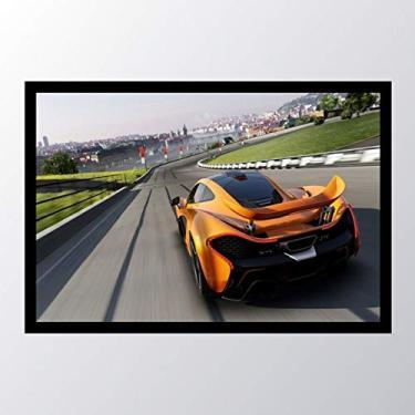Quadro com moldura forza motorsport_001