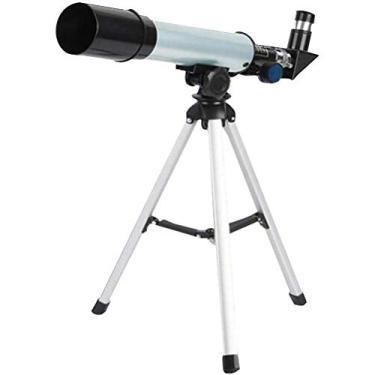 Imagem de JAOCDOEN Telescópio Lunar, Telescópio de Astronomia HD com Tripé, Abertura de 50 mm 18X, Telescópio Monocular 90X para Crianças Adultos Iniciantes