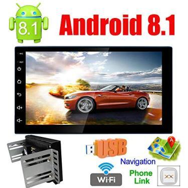 Imagem de Central Multimidia Android Gps Igo 7' Touch Universal 2 din Radio Automotivo Mp5 Mp3 Bluetooth
