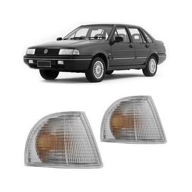 Lanterna Dianteira Pisca Volkswagen Quantum Santana 1991 a 1995 Cristal Lado Direito