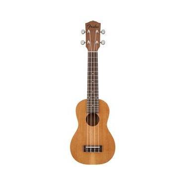 Ukulele Fender - 095 5652 - Piha`eu Soprano - 021 - Natural