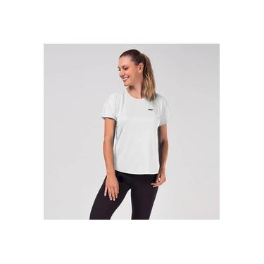 Camiseta Fila Basic Sports Feminina - Branco