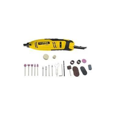 Kit micro retífica 150 watts 40 acessórios - GYMI150 - Hammer