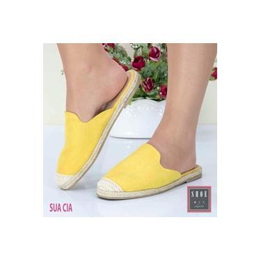 Sapato Mule Sua Cia Yellow Feminino 8103-12013