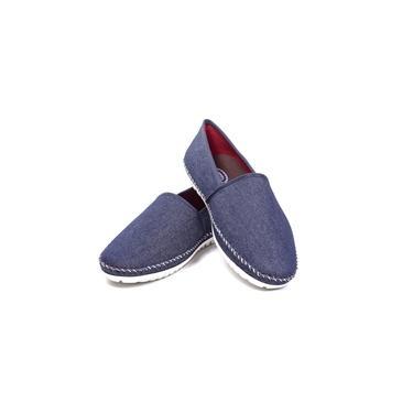 Sapato Alpargata Masculina Italiana Confort Casual Jeans Marinho