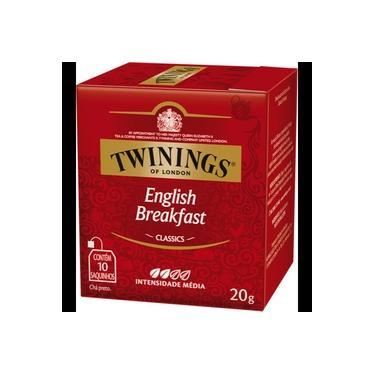 Chá Preto English Breakfast 20 G Twinings Of London 20g 10 Sachês