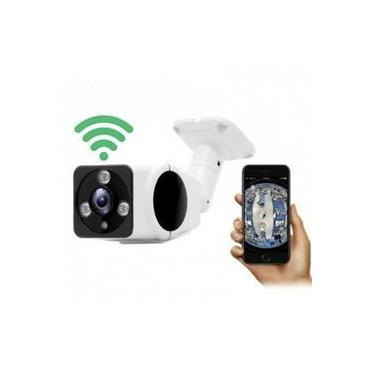 Câmera Segurança Ip 360° Externa Wifi Wireless Prova D'água Acesso Remoto 1.3mp