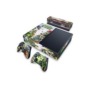 Skin Adesivo para Xbox One Fat - Plants Vs Zombies Garden Warfare