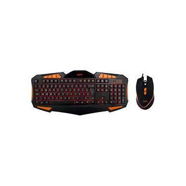 Combo Gamer Gear - Mouse 4.000 DPI + Teclado Blacklight - OEX