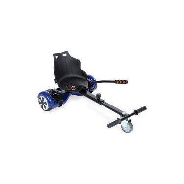 Hoverkart Carrinho para Hoverboard Universal 6,5, 8, 10 Polegadas Preto
