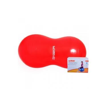 Imagem de Bola Feijao para Pilates Vermelha 100 X 40 Cm Liveup