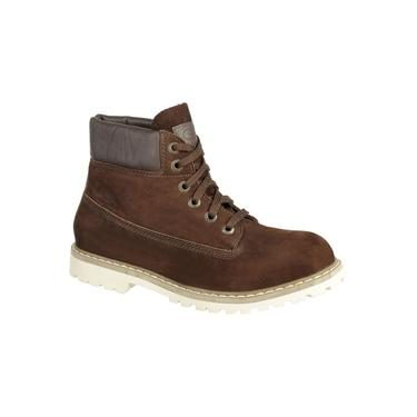 Bota Masculina Sapato Coturno Casual Palmilha Gel Couro