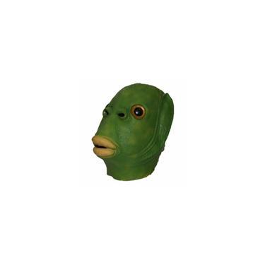 Imagem de Páscoa Verde Peixe Monstro Latex Durable Máscara Máscara Traje Engraçado Cosplay miraitowa