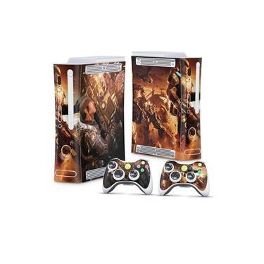 Skin Adesivo para Xbox 360 Fat Arcade - Gears Of War 2