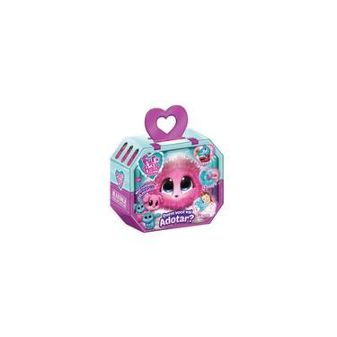 Imagem de Pelucia Fur Balls Pets Adotados Surpresa Rosa - Fun