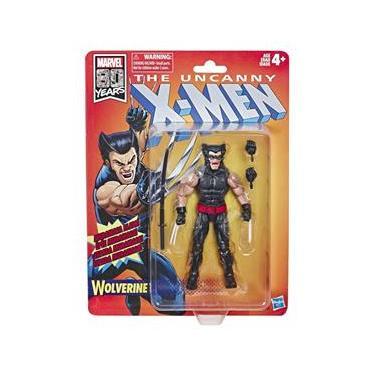 Figura Marvel Legends 80Th X-Men Comics Wolverine Hq E5296