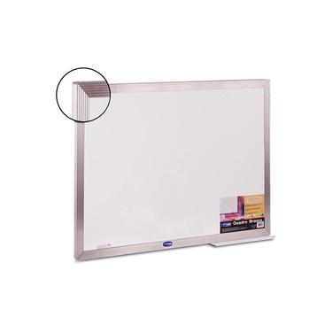 Imagem de Quadro Branco Standart 120x90cm Moldura Aluminio Ref. 2321 -Cortiarte