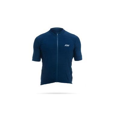 Camisa Ciclismo Asw Essentials Masculino Azul Marinho