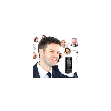 Renovado Nokia C2-05 Celular Slide Mp3 Player Desbloqueado-compra internacional pode ser cobrada imposto