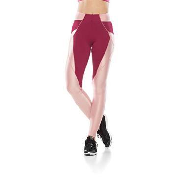 Calça Legging Fitness Star - Nude Rosê - M