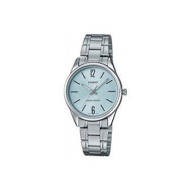 Relógio de Pulso Feminino Casio Analógico Resistente a àgua   Joalheria    Comparar preço de Relógio de Pulso - Zoom c785479903