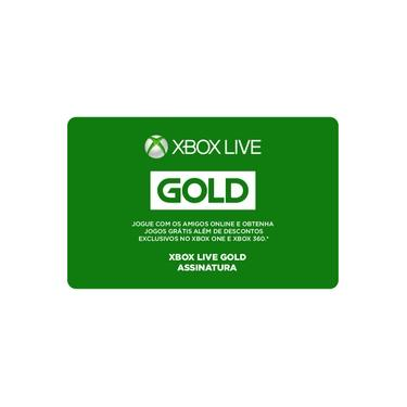 Gift Card Digital Xbox Live 6 Meses