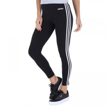 Calça Legging adidas Essentials 3S Tight - Feminina adidas Feminino