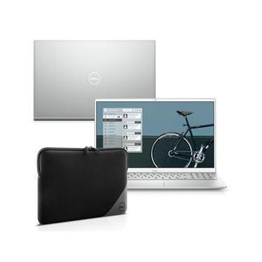 """Imagem de Kit Notebook Ultrafino Dell Inspiron i5502-M10SC 15.6"""" Full HD 11ª Ger. Intel Core i5 8GB 256GB SSD Windows 10 + Capa"""