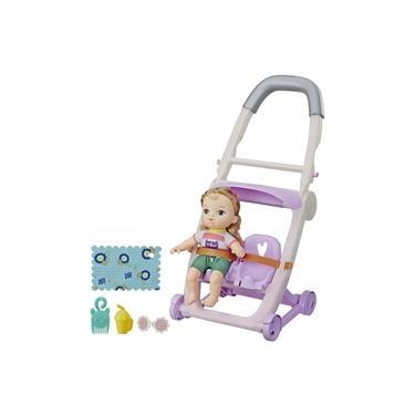 Imagem de Carrinho de Boneca Com Baby Alive Littles Loira E7182 E6703 - Hasbro